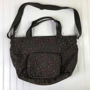 Kipling Monkey Tote bag brown travel bag